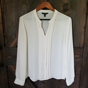 Banana Republic Off-White Blouse